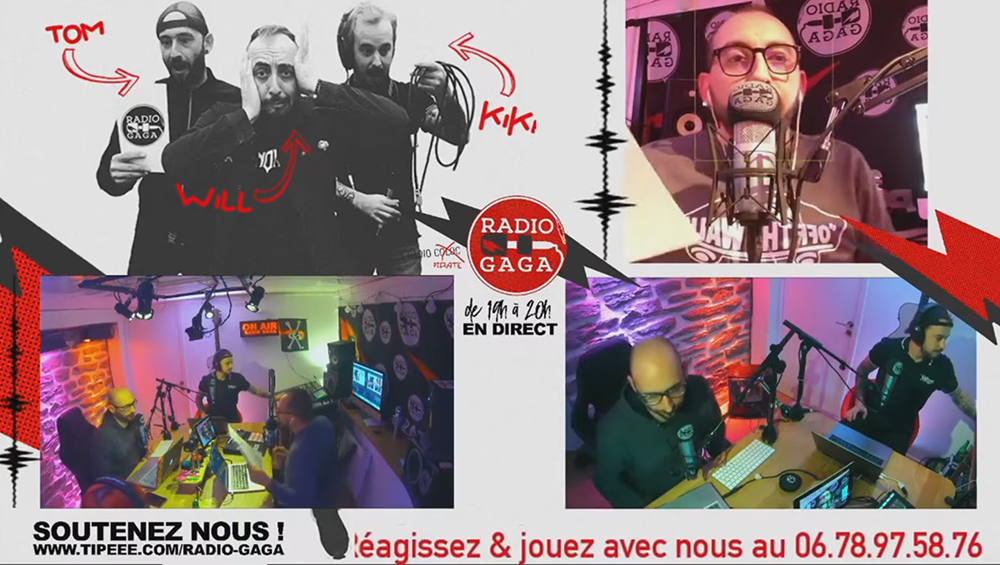Formation Live Stream Emisison de radio filmée