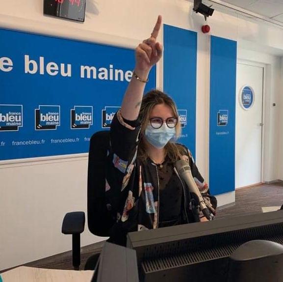 Caroline à France Bleu
